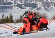 Salvamontistii au salvat viata unei turiste de 27 de ani care s-a ratacit la schi in Muntii Fagaras