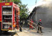 Incendiu intr-un liceu din Mangalia. 150 de copii si profesori se aflau in incinta unitatii de invatamant