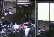 Incendiu intr-un bloc din Sectorul 2 al Capitalei, opt persoane internate, alte 42 evaluate medical