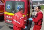 Un barbat din Mioveni si-a dat foc in fata politistilor. Era suparat ca il parasise iubita