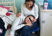 """Mama fetei operate de Gheorghe Burnei s-a transformat in """"ingerul copiilor de la Marie Curie""""! Emiliana Iliescu isi petrece duminicile alaturi de micutii internati la sectia de """"Ortopedie"""""""