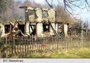 Gestul extraordinar al unui pompier din Hunedoara pentru un batran a carui locuinta a fost mistuita de flacari