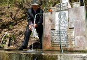 Izvorul cu Leac al lui Arsenie Boca! Locuitorii sustin ca apa are calitati tamaduitoare: o fetita a fost salvata de la moarte