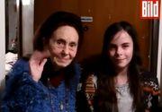 Adriana Iliescu a ajuns vedeta in Germania. Jurnalistii de la Bild au venit in Romania si au realizat un reportaj despre ea