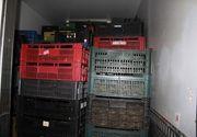 Sapte tone de fructe si legume si 1,5 tone de carne, confiscate de politisti inaintea Pastelui