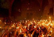 Lumina Sfanta de la Ierusalim a fost adusa in Romania