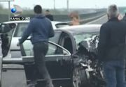 Sapte persoane, intre care trei copii, ranite dupa ce doua masini s-au ciocnit in judetul Bacau