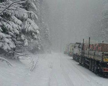 Cod Portocaliu de ninsori in 5 judete in luna aprilie