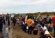 Alti 21 de migranti irakieni si pakistanezi, opriti de politistii de frontiera la granita cu Serbia