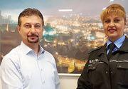 O politista din Hunedoara a gasit 17.000 de lei uitati de un pensionar intr-un bancomat