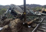 Incredibil. Cei doi mecanici ai trenului privat de marfa care a deraiat intre Petrosani si Simeria au fost bauti. Ce s-a aflat dupa necropsie