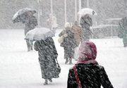Vesti proaste de la meteorologi! A fost emis cod galben de vant puternic si ninsori! Care sunt zonele afectate