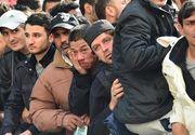 Numar record de migranti in Vama Nadlac II, unde au fost gasiti 111 straini, inclusiv copii, intr-un TIR romanesc