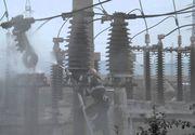 Incendiu puternic in Botosani, la o statie de transformare electrica. Autoritatile sunt ingrijorare de poluarea excesiva a aerului