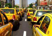 Taximetristii protesteaza miercuri in fata Guvernului; trafic restrictionat pe soseaua Kiseleff
