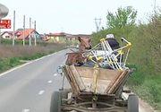 Un politist din Vaslui a surprins un barbat care conducea beat o caruta, in timp ce barbatul era la Timisoara! Cum este posibil asa ceva nici sefii agentului nu-si dau seama