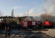 Incendiu la un restaurant din Bucuresti. Acelasi local a luat foc si acum o luna