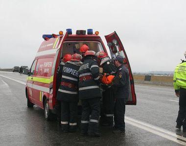 Accident in Dolj. Trei persoane au fost ranite pe DN 6. Una dintre victime, preluata de...