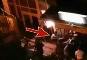 Bataie intr-un club din Barlad. Jandarmii au fost nevoiti sa foloseasca gaze lacrimogene. De la ce ar fi pornit totul