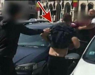 Au fost in stare sa se omoare pentru un loc de parcare, de fata cu politia. Imagini...
