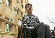 Rezolvarea incredibila a autoritatilor in cazul lui Stef, elevul imobilizat in scaunul cu rotile - L-au trimis departe de Bucuresti ca sa isi continue studiile - Detalii ireale
