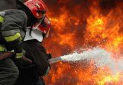 Unsprezece persoane, la spital in urma unui incendiu intr-un bloc din Petrila