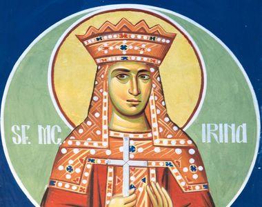Sarbatoare pentru crestini! Pe 5 mai este pomenita Mucenita Irina, salvata de ingerul...