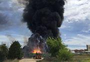 Cetatean roman, ranit in explozia de langa Madrid