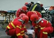 Accident grav in Maramures. Doi tineri au ramas prinsi intre fiarele masinii. Au scapat cu viata ca prin minune