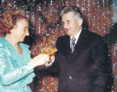 Elena si Nicolae Ceausescu, tanarul revolutionar si regina balului. Fotografia celor...