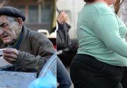 Romania, tara extremelor. Unii arunca mancarea, altii adorm infometati. O buna parte din romani traieste in saracie lucie, in timp ce obezitatea continua sa creasca
