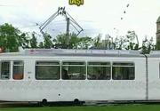 Asta e cel mai frumos tramvai care circula prin Iasi. Ce il face atat de special?