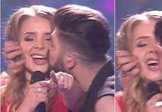 """Sarutul dintre Ilinca si Alex Florea de la Eurovision a creat o adevarata isterie pe internet: """"Nu inseamna nu"""""""