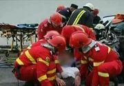Un mort si doi raniti, in urma unui accident rutier in judetul Giurgiu