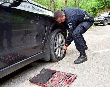 Jandarmii hunedoreni au reparat pana la masina ambasadorului SUA, care a vizitat...