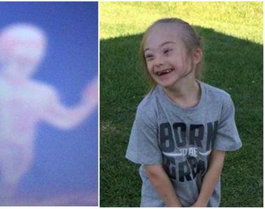 Un copil cu sindrom Down si-ar fi fotografiat ingerul pazitor. Mama copilului e...