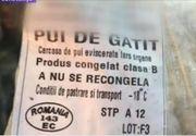 Ireal! Pui expirat din 2011, pus la vanzare. Magazinul din Constanta vindea si pulpe expirate din 2014