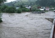 Avertizare de inundatii prognozate pana joi, in Transilvania si Banat