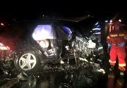Accident cumplit pe A1. Directorul unei companii producatoare de mezeluri a murit, dupa ce a intrat cu 208 km/h intr-un parapet