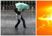 ANM: Ploi torentiale si posibile caderi de grindina sambata in Bucuresti si in cea mai mare parte a tarii! De duminica, vremea se incalzeste