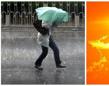 ANM: Ploi torentiale si posibile caderi de grindina sambata in Bucuresti si in cea mai...