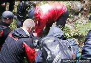 Femeia care a cazut intr-o prapastie din Jepii Mici a murit