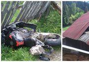 Un tanar din Suceava a murit dupa ce a trecut cu motocicleta prin acoperisul unei case. Localnicii nu au mai vazut un asemenea accident