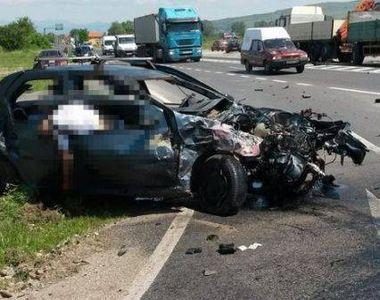 Un tanar fotbalist din Romania si-a pierdut viata intr-un accident rutier petrecut  pe...