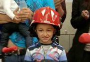 Ce s-a intamplat cu baietelul de 6 ani care si-a salvat surorile dintr-un incendiu devastator