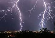 Cod galben de vreme instabila in mai multe judete. Lista cu zonele afectate