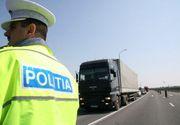 Politistii din Satu Mare au descoperit 240.000 de tigarete ascunse in compartimentul de marfa al unei autoutilitare