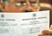 Incepand cu 1 iunie, romanii vor putea consulta gratuit Monitorul Oficial online