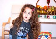 La numai 4 ani, Eva a fost diagnosticata cu cancer. Tumorile sunt foarte mari si trebuie operata de urgenta.