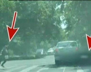 Incident socant in Galati! O fetita a fost lovita de un taximetrist pe trecerea de pietoni